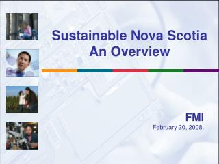 Sustainable Nova Scotia An Overview
