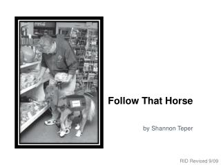 Follow That Horse