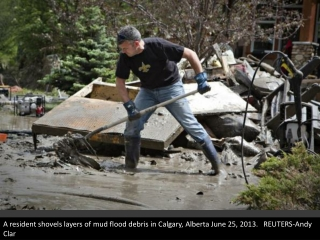 flood waters spread in Alberta