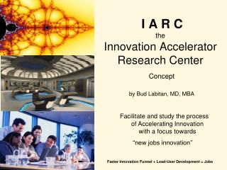 I A R C the Innovation Accelerator Research Center