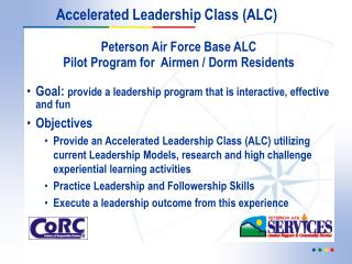 Accelerated Leadership Class (ALC)