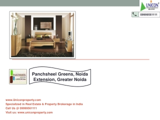 Panchsheel Greens Noida Extension | Call 9999561111