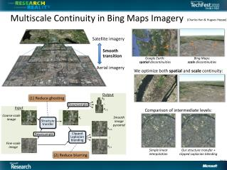 Multiscale Continuity in Bing Maps Imagery