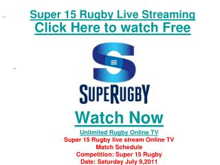watch reds vs crusaders super 15 rugby final live streaming