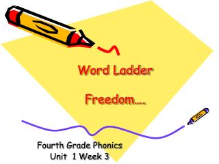 Word Ladder Freedom….