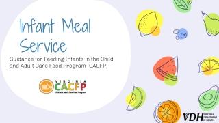 Infant Meal Service