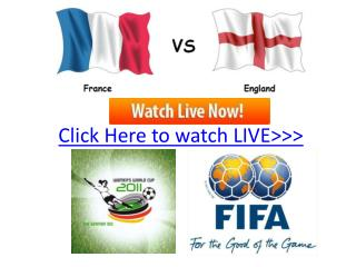 france vs england live hd!! quater final women's world cup