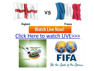 england vs france live hd!! quater final women's world cup
