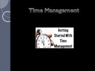 Top Five Time Management Tips