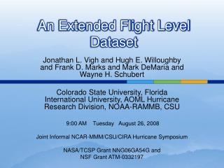 An Extended Flight Level Dataset
