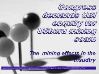 Black Hawk Article Congress demands CBI enquiry for Uliburu