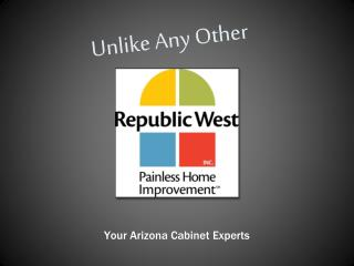 Arizona Cabinet Refacing - Republic West