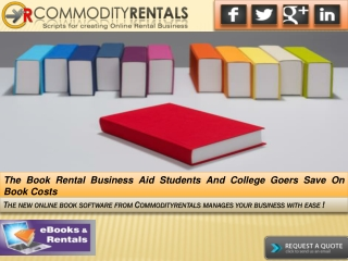The Book Rental Business Aid Students And College Goers Save