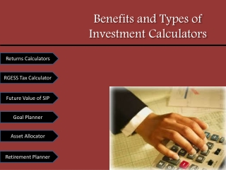 Returns Calculator  - Calculate Mutual Fund Returns
