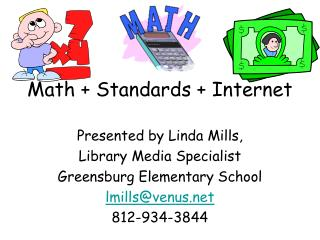 Math + Standards + Internet