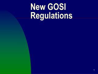 New GOSI Regulations