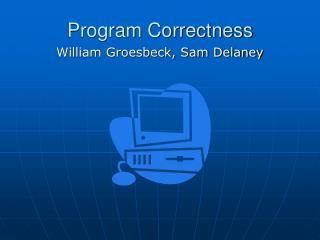 Program Correctness