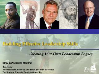 Building Effective Leadership Skills