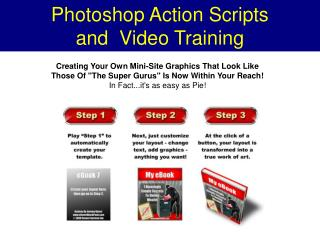 Photoshop Action Script