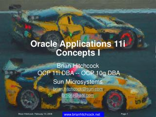Oracle Applications 11i Concepts I