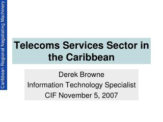 Telecoms Services Sector in the Caribbean