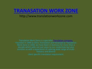 Translation Company in Delhi