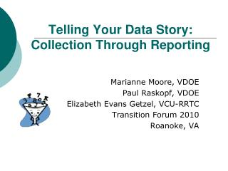 Telling Your Data Story: Collection Through Reporting