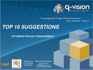 Optimización en Gestión de Proyectos