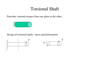 Torsional Shaft