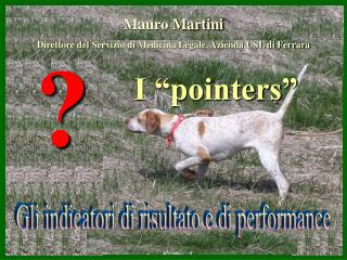 "I ""pointers"""