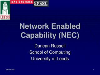 Network Enabled Capability NEC