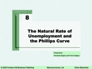 The Natural Rate of Unemployment and the Phillips Curve