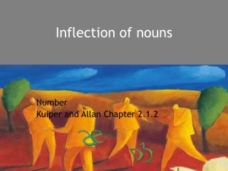 Inflection of nouns