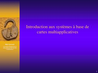 Introduction aux syst mes   base de cartes multiapplicatives
