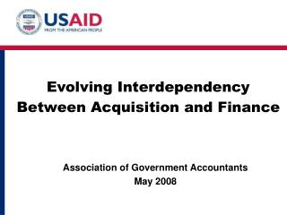 Evolving Interdependency Between Acquisition and Finance