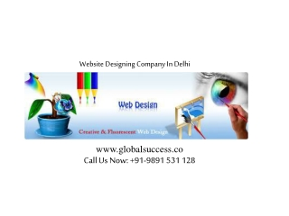 Website Designing @ 9891531128