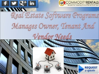The Modern Manager's Real Estate Rental Software for Commerc