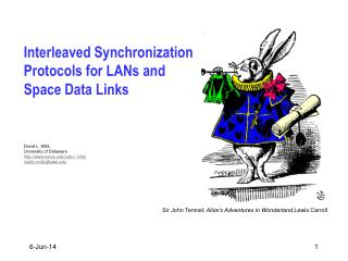 Interleaved Synchronization Protocols for LANs and Space Data Links