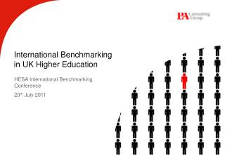 International Benchmarking  in UK Higher Education