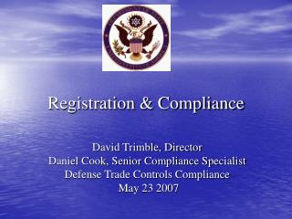 Registration & Compliance