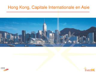 Hong Kong, Capitale Internationale en Asie