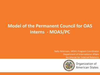 Model of the Permanent Council for OAS Interns  - MOAS/PC
