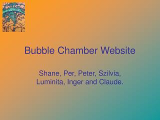 Bubble Chamber Website