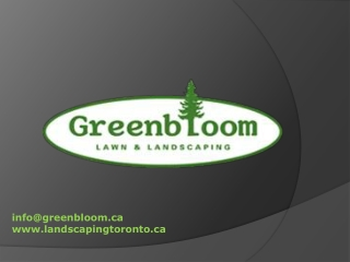 Greenbloom Landscape Design Inc.
