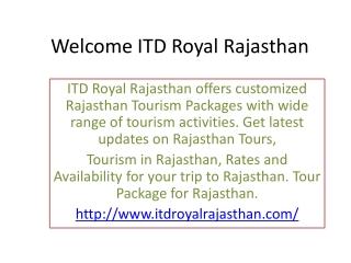 Rajasthan Tourism, Rajasthan Tours,Tourist Spots in Rajastha