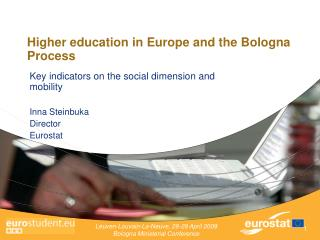 Higher education in Europe and the Bologna Process