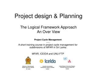 Project design & Planning