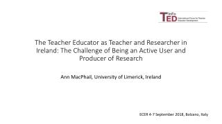 The Roles of Teacher