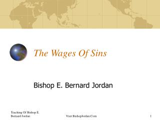 The Wages Of Sins