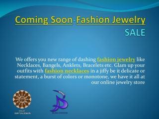 Design your own Fashion Jewelry Free!!